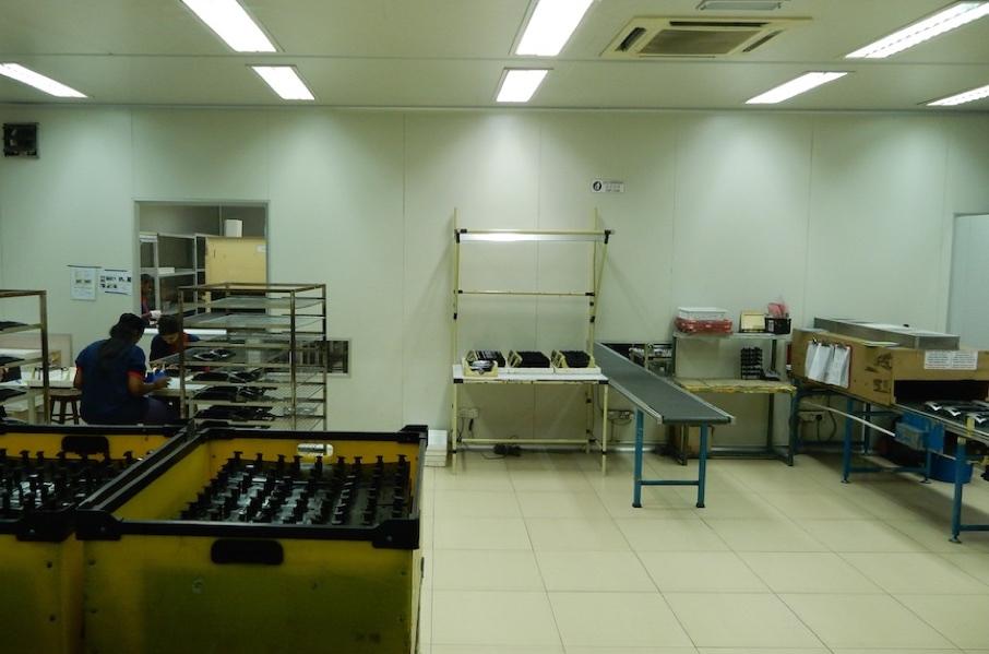 Spray Room